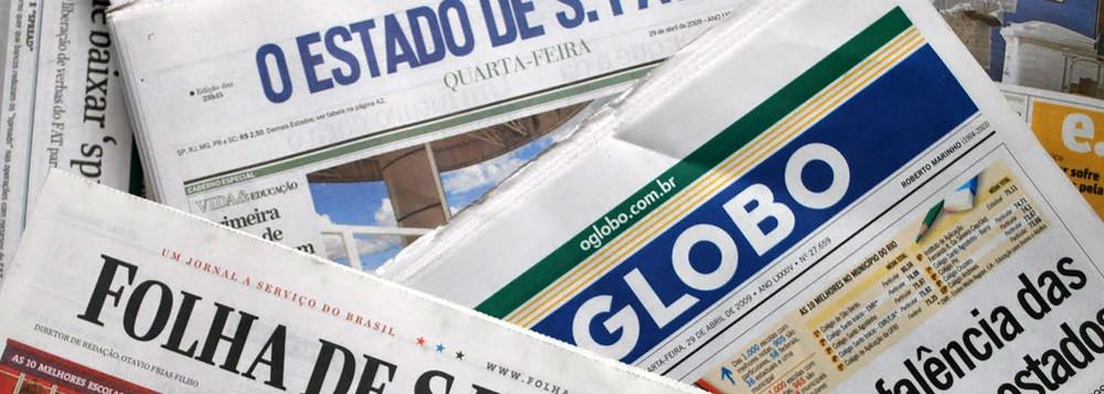 """Exemplos de jornais de circulação nacional considerados """"quality paper"""""""